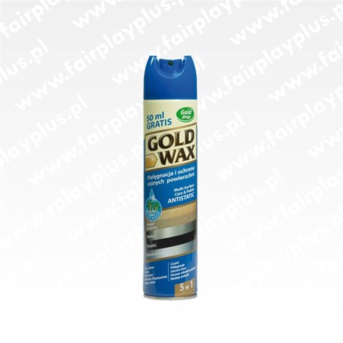 SPRAY DO MEBLI GOLD WAX 300ML